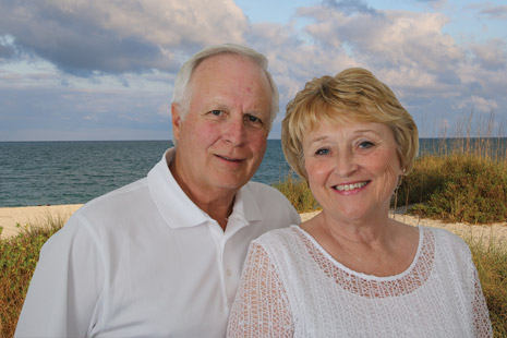 Terry and Marilyn Langham